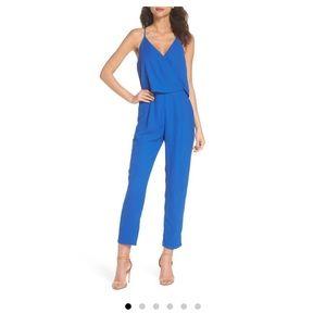Beautiful cobalt dressy jumpsuit